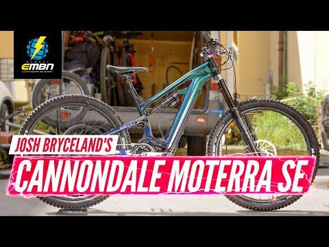 Josh Bryceland's Cannondale Moterra SE   EMBN Pro Bike Check