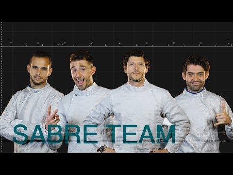 Italian men's sabre team // road to Tokyo 2020