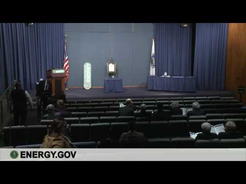 Schlesinger Medal for Energy Security Award Ceremony - U.S. Department of Energy Live Stream