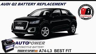 Sostituzione batteria Audi Q2