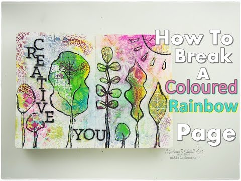 How to Break A Coloured Rainbow Page ♡ Maremi's Small Art ♡