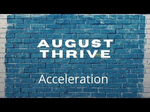 August Thrive - Prophetic Word