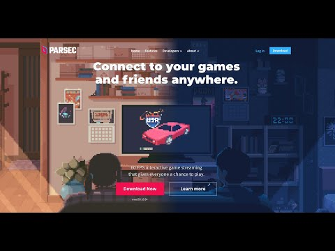 PARSEC (jugar online a juegos locales ordenador)