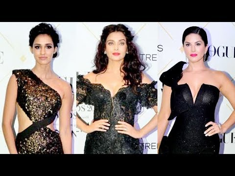 The Best Dressed Bollywood stars of Vogue Awards 2017 | Aishwarya Rai, Mira Shahid, Disha Patani