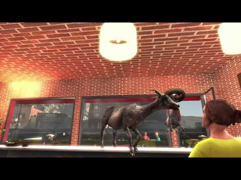 Goat Simulator Patch 1.1 Official Trailer