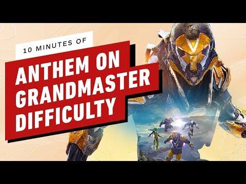 10 Minutes of Anthem Grandmaster - Endgame Difficulty Gameplay - UCKy1dAqELo0zrOtPkf0eTMw