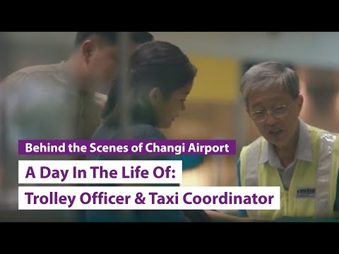 A Day In The Life Of: Smarte Carte Trolley Officer & Certis CISCO Taxi Coordinator