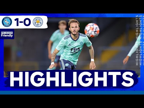 Highlights | Wycombe Wanderers 1 Leicester City 0 | The Foxes In Pre-Season