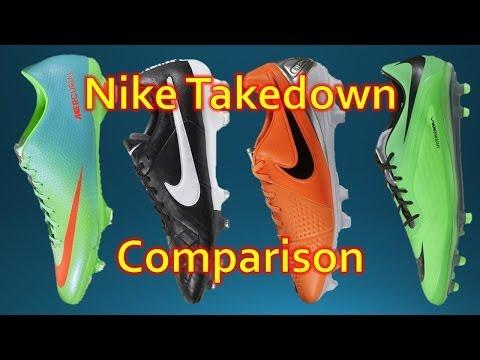 Nike Takedown Model Comparison - Phatal vs Veloce vs Legacy vs Trequartista 3 - UCUU3lMXc6iDrQw4eZen8COQ