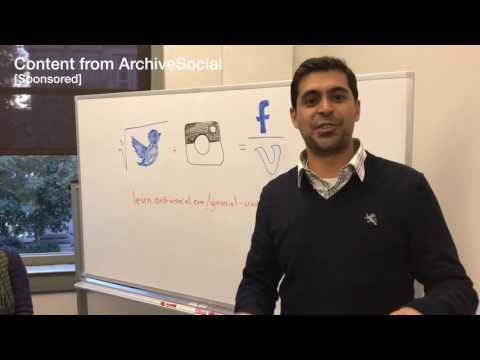 Crash Course on Social Media from ArchiveSocial