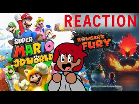 DExus Reacts to Super Mario 3D World + Bowser s Fury Overview Trailer