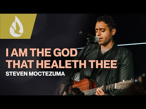 I Am The God That Healeth Thee (by Don Moen) w/ Lyrics  Acoustic Worship Cover by Steven Moctezuma
