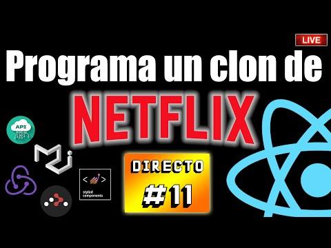 🔺 Programa un clon de Netflix con REACT⚛️