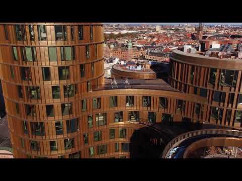 ZÜBLIN A/S - Project Axel Towers Copenhagen: Drone Flight