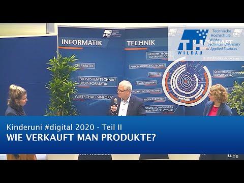 TH Wildau Kinderuni #digital 2020: Wie verkauft man Produkte?
