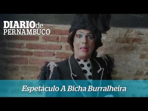 Convite para assistir ao espet�culo A Bicha Burralheira