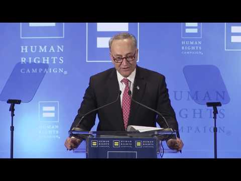 Sen.  Chuck Schumer Addresses HRC's Greater NY Community