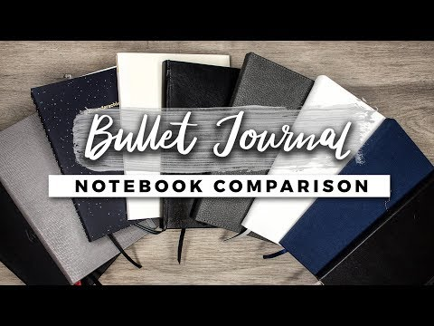 Which Notebook is the Best for Bullet Journaling?! | STATIONERY SHOWDOWN