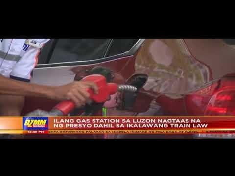Headline Pilipinas: Ilang gas station sa Luzon, nagtaas ng presyo