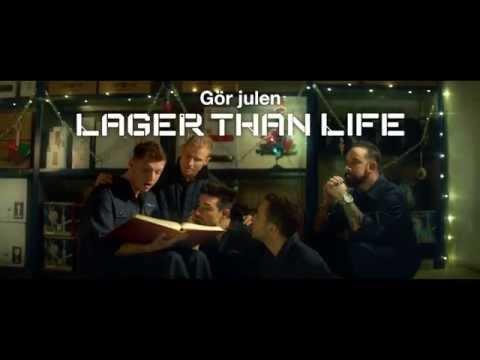 Gör julen Lager than life