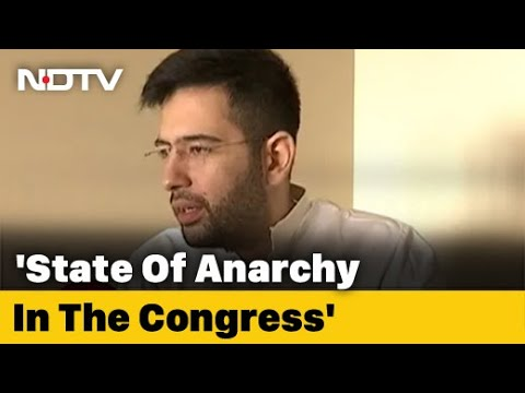 'Game Of Thrones Being Played Within Congress Factions': AAP's Raghav Chadha