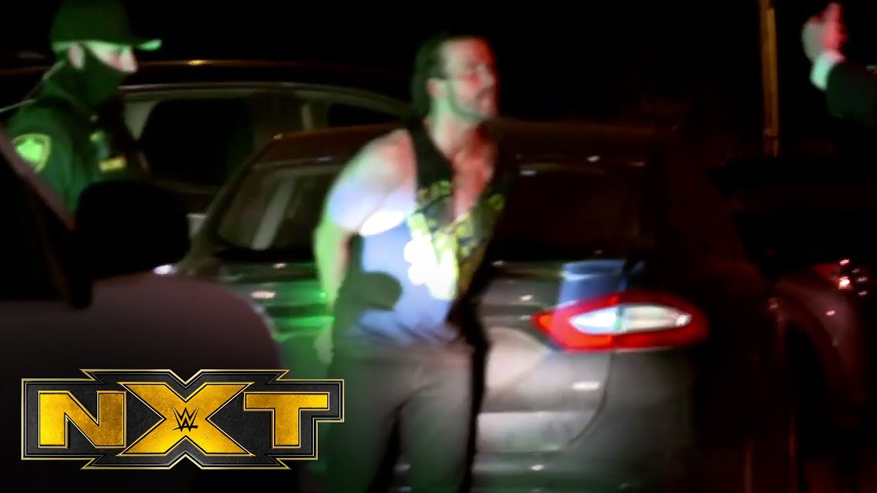 Adam Cole and Kyle O'Reilly's altercation draws police presence: WWE NXT, March 17, 2021