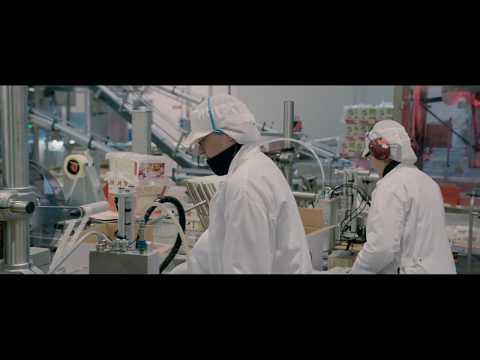 Hygienic production flow