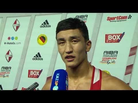 Интервью ЧМ-2017 Аманкул 75 кг (серебро)