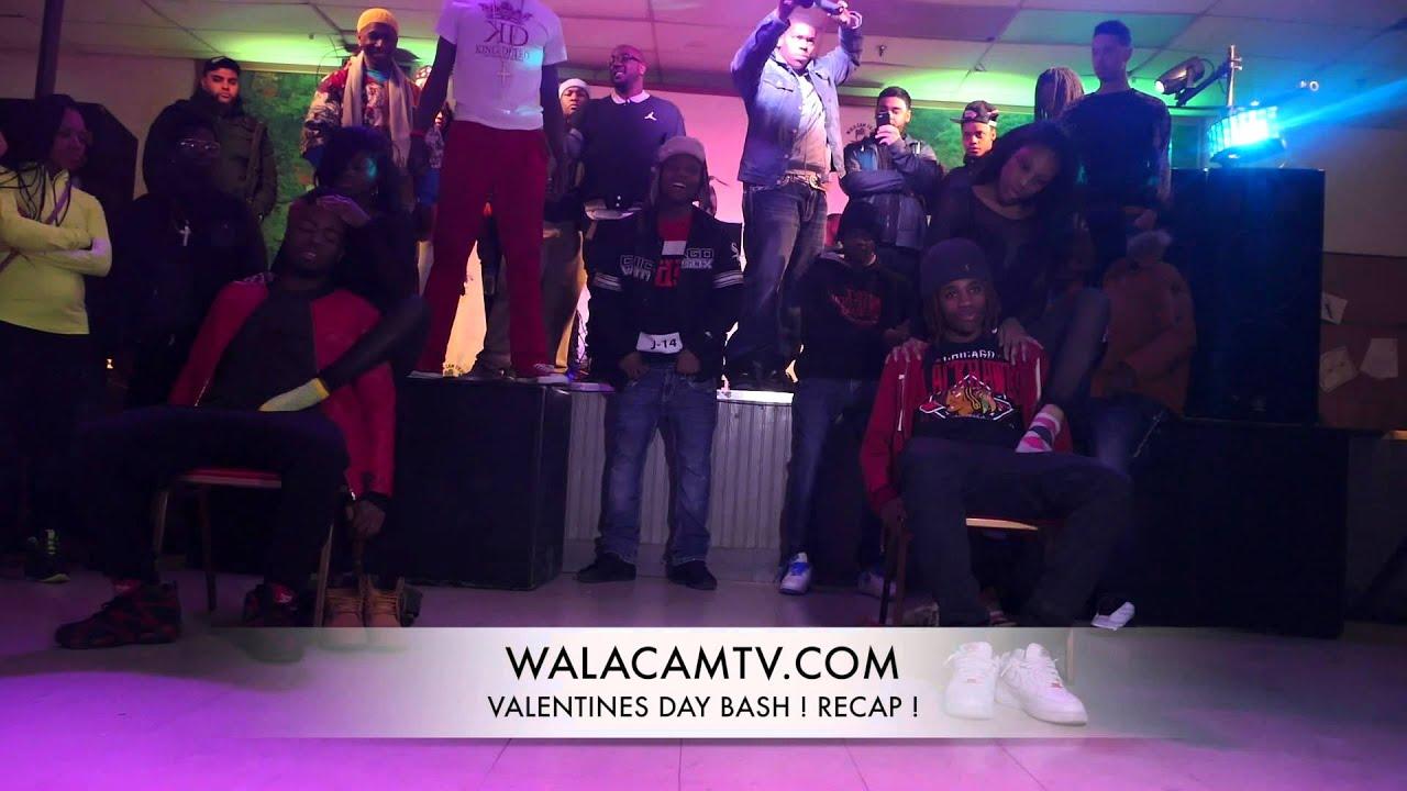 WALACAMTV.COM ITS ON - Valentines Day Bash Recap! - Jmoney & ShortyLo PERFORMANCE