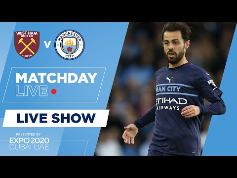 LIVE! | WEST HAM V MAN CITY | CARABAO CUP | MATCHDAY LIVE SHOW