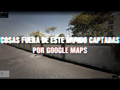 Cosas fuera de este mundo captadas por Google Maps