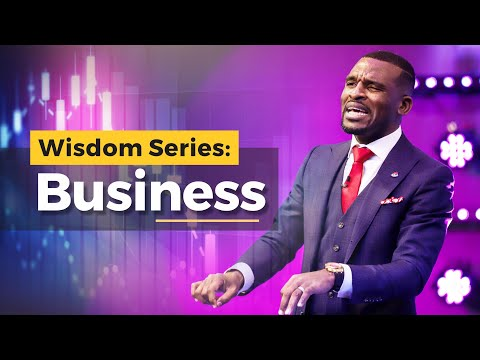 WISDOM SERIES - [BUSINESS BREAKTHROUGH]  ISAAC OYEDEPO