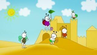 Bogyó és Babóca: A homokvár