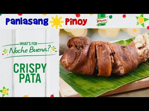 Super Crispy Pata Recipe with Yummy Sawsawan - Panlasang Pinoy