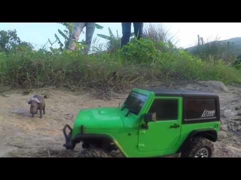 Orlandoo Title: The Lightest Way to Enjoy Crawling. Orlandoo 1/35 Jeep Rubicon