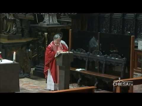 Martedì 7 aprile 2020 ore 8,00 - Celebrazione dal Duomo di Milano