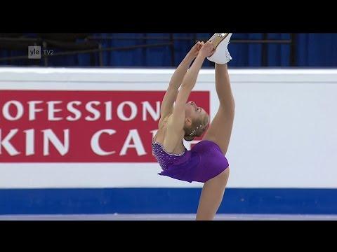Viveca Lindfors - Free Skating - 2016 European Figure Skating Championships