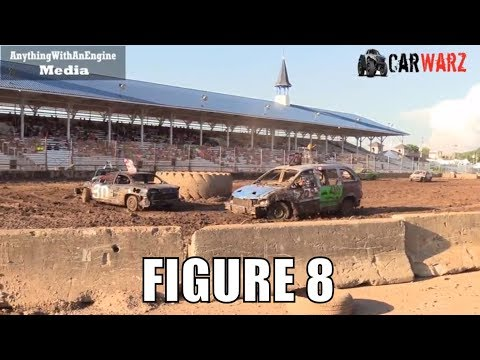 Figure 8 Class Demolition Derby At Unique Motorsports In Ionia Michigan 2018