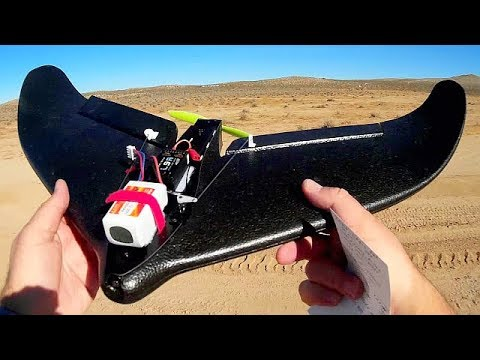 FTC Hunter Stabilized RC Airplane Flight Test Review