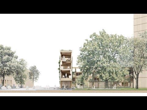 White Arkitekter proposes building housing around existing London estates