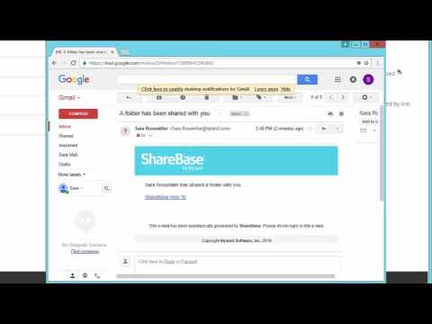 How to Share Folders Externally Using Secure Password