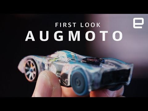 Hot Wheels Augmoto first look