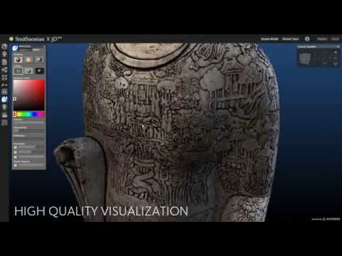 Autodesk Powers 3D Explorer for Smithsonian Institution