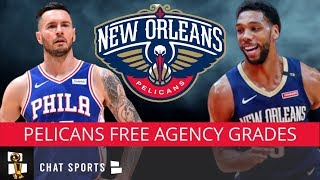 Pelicans Free Agency Grades: JJ Redick, Jahlil Okafor, Derrick Favors, Nicolo Melli & Darius Miller