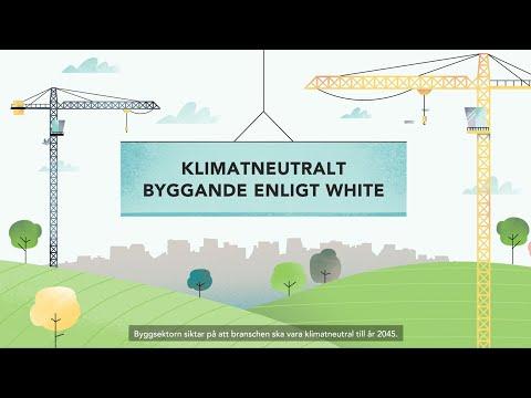 Klimatneutralt byggande enligt White