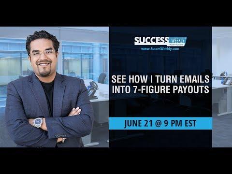 SuccessWeekly #25 Webinar