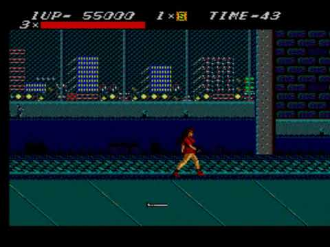 Street Of Rage 1 Master System Fullgameplay No continue