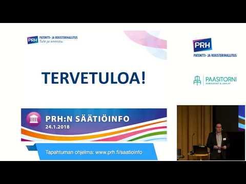 Säätiö-iltapäivä 2018 Liisa Räsänen