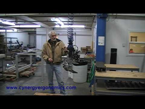 Battery Plate Manipulator Lift/Pitch System
