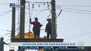 Ellen visits an adventure park in Woodinville, Washington
